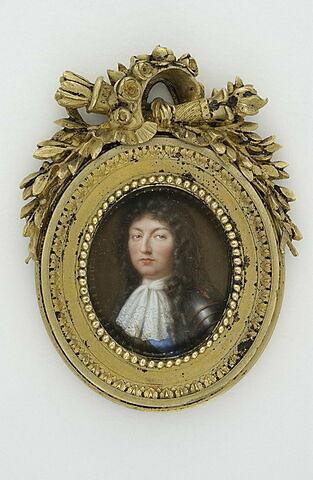 Portrait d'homme avec une perruque