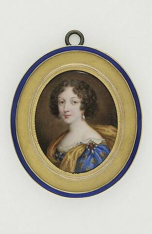 Portrait présumé de Marie Louise d'Orléans, femme de Charles II