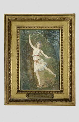 Le danseur Vestris dans le rôle de Pâris