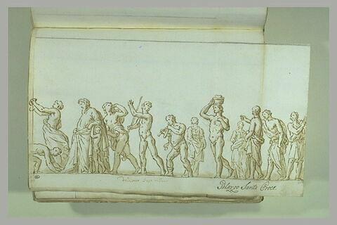 Le Cortège de Dionysos accueilli chez Icarios