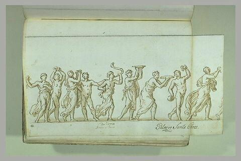 Cortège de Silène et de Bacchus