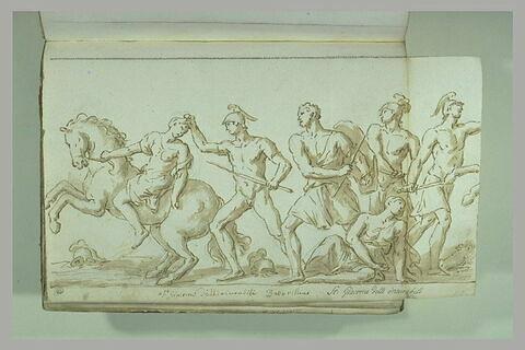 Le Combat des Amazones contre Achille et Ulysse (?)