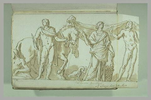 Sarcophage de Cérès et Pluton