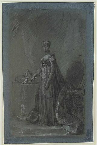 Portrait de l'Impératrice Marie-Louise