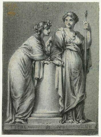 Thalie et Melpomène