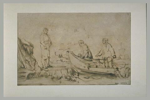 Le Christ appelant à lui Simon et André