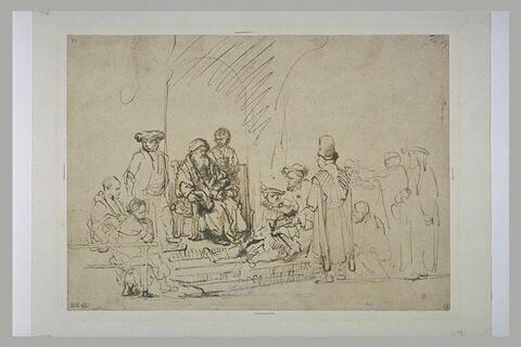 Jacob écoutant le récit de ses fils revenus d'Egypte