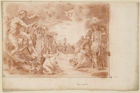 Ulysse sacrifiant aux dieux