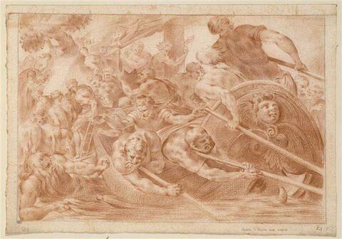 Ulysse abordant aux rivages des Enfers