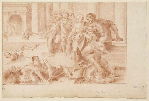 Ulysse condamnant les servantes coupables