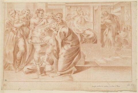Euryclée reconnaissant Ulysse