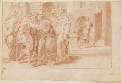 Retrouvailles d'Ulysse et de Pénélope