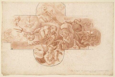 Neptune sur son char