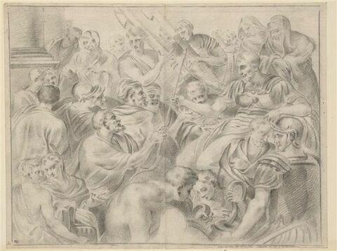 Agamemnon élu roi des rois