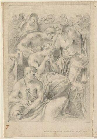 Ménélas pleurant Hélène