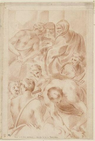 Ulysse et les Grecs sacrifiant