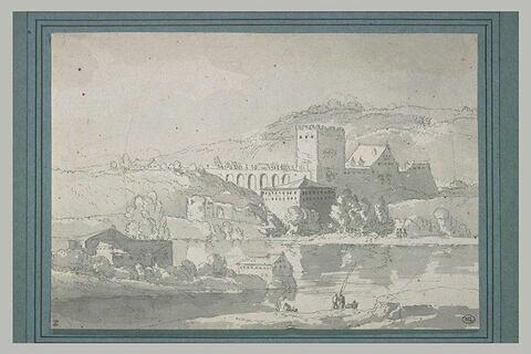 A Avallon sur Marne, un pont fortifié