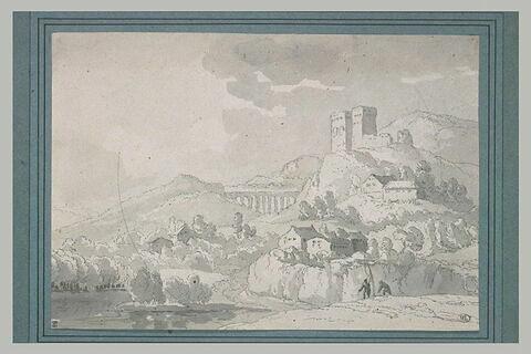 Château-fort à Avallon sur Marne