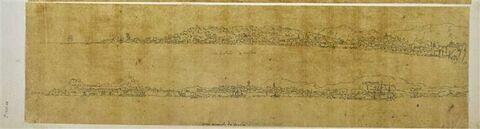 Deux vues panoramiques de Corfou