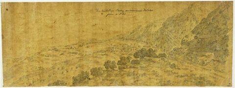 Vue panoramique de Delphes