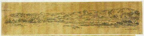 Vue panoramique du fleuve Alphée