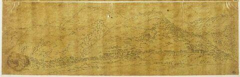Vue panoramique de Mistra