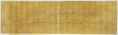 Vue panoramique de Lessa en Morée et d'Argos