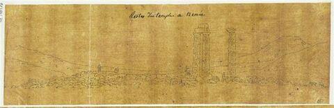Vue panoramique de Némée
