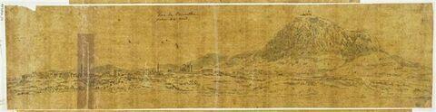 Vue panoramique de Corinthe