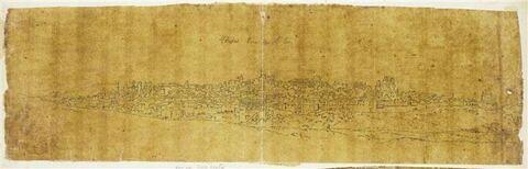 Vue panoramique de Thèbes