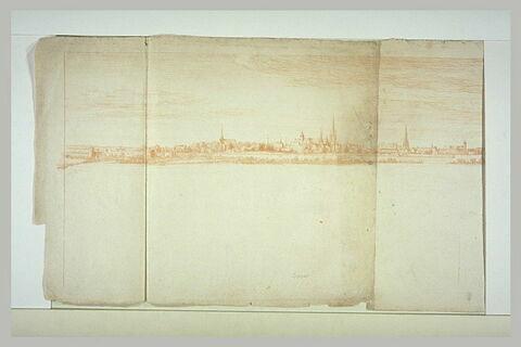 Panorama de la ville de Douai