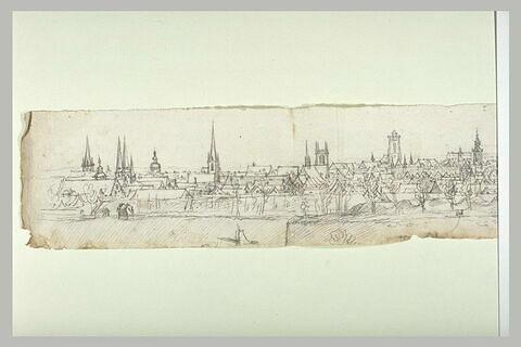 Vue générale de la ville de Valenciennes