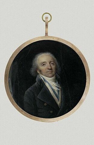 Portrait du danseur Despréaux, mari de la Guimard