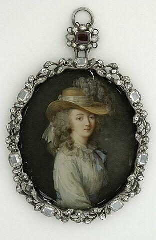 Portrait de la comtesse du Barry