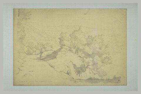 Un chemin conduisant au lac de Némi