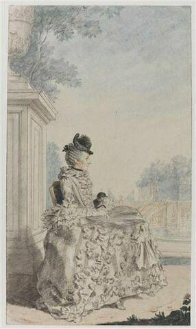 Portrait de Louise-Anne-Madeleine de Vernon, marquise de Ségur (1729-1778), femme du Maréchal de Ségur