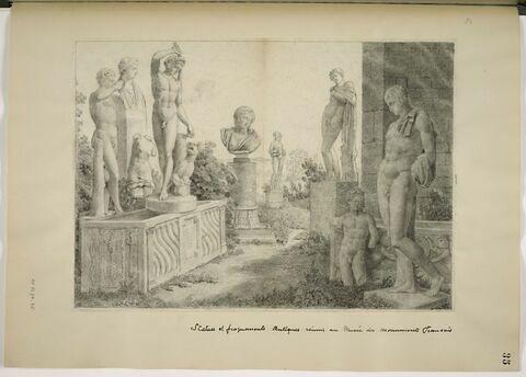 Statues et fragments antiques