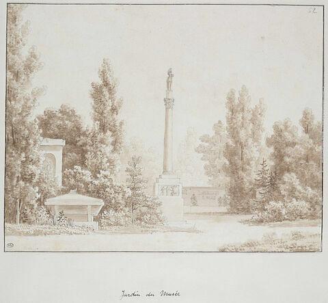 Jardin du Musée des Monuments Français