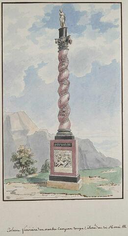 Colonne funéraire à la mémoire du roi Henri III