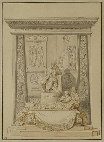 Fontispice pour le 'Recueil des monuments du XVIIè s'