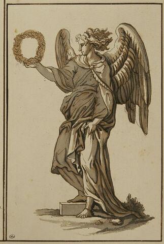 Ange portant la couronne d'épines