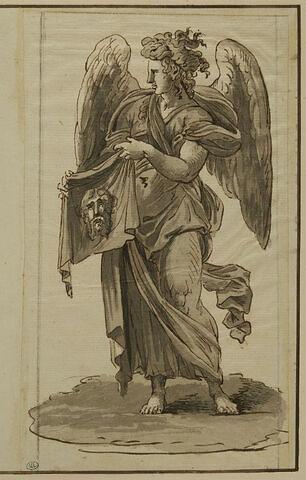 Ange portant la Sainte Face
