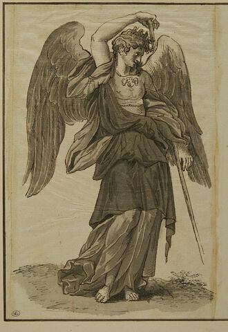 Ange portant la lance