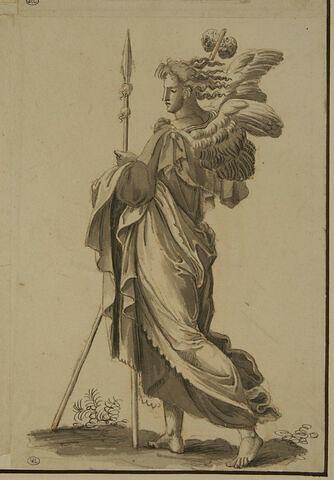 Ange portant la lance et l'éponge