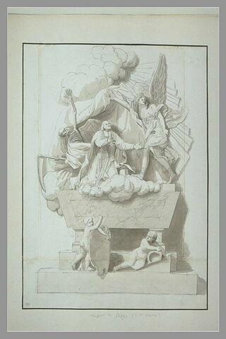 Tombeau de Languet de Gergy à Saint-Sulpice