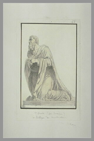Statue de saint Denis