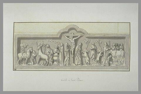 Autel de la basilique Saint-Denis