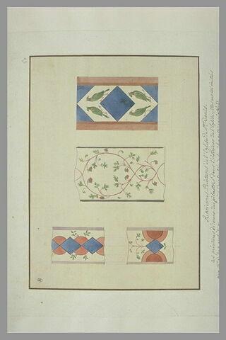 Anciennes peintures de l'église de Saint-Denis