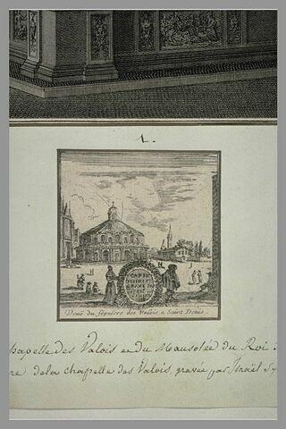 Vue extérieure de la chapelle des Valois