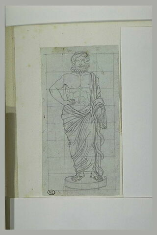 Statue antique : Mercure